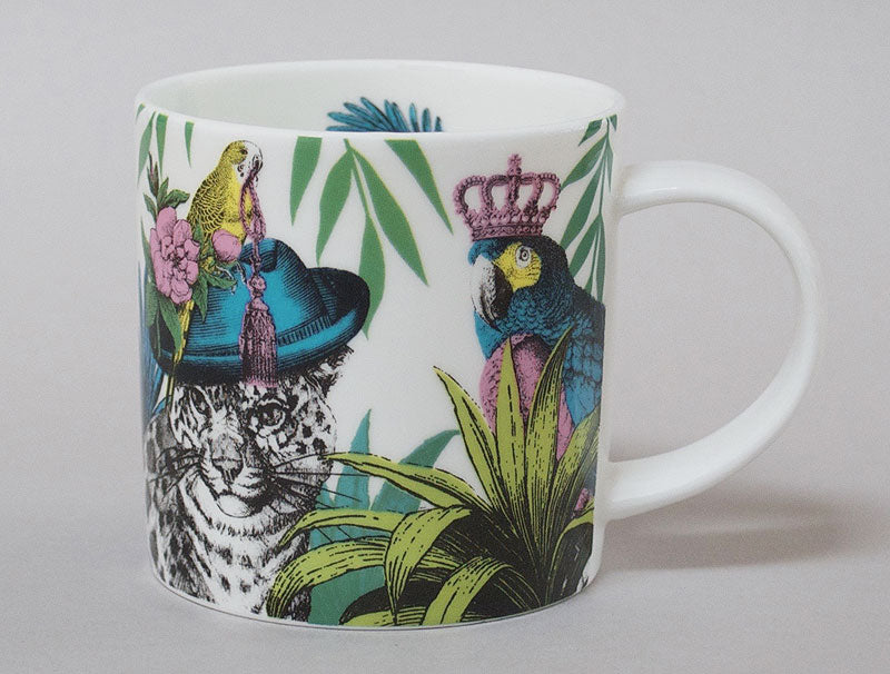 Gifts | Repeat Repeat bone china Jungle mug leopard