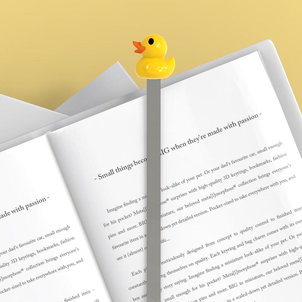 Gifts | Yellow duck 3D bookmark