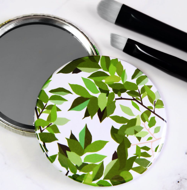 Gifts | Botanical pocket mirror