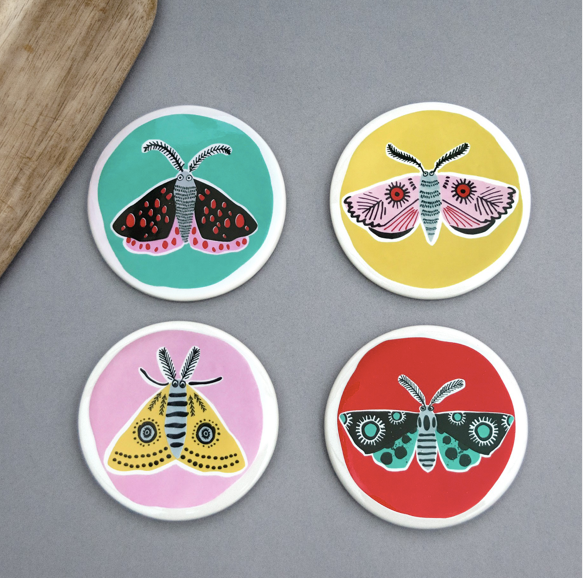 Gifts | Hannah Turner Ceramic coaster box set
