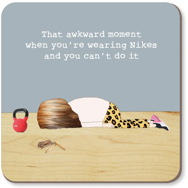Gifts | Awkward moment coaster