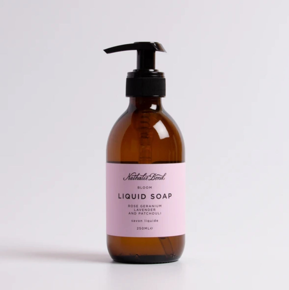 Toiletries I Nathalie Bond Bloom liquid soap