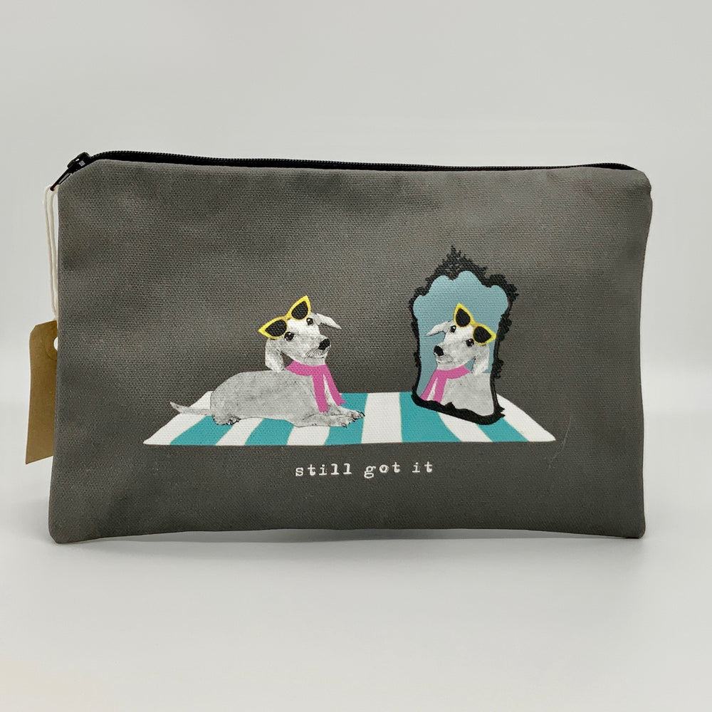 Gifts | Quirky cosmetic/ accessory bag - Still got it
