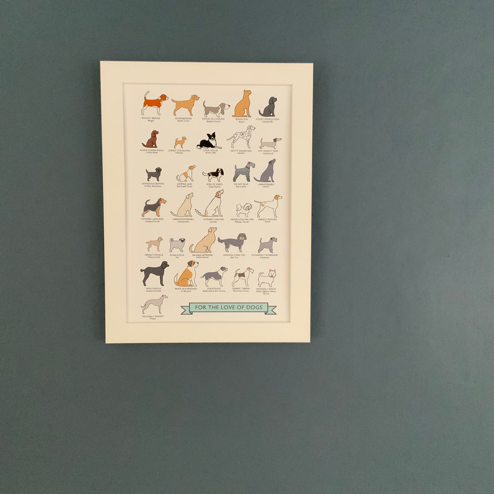 A4/A3 Prints | For the love of dogs