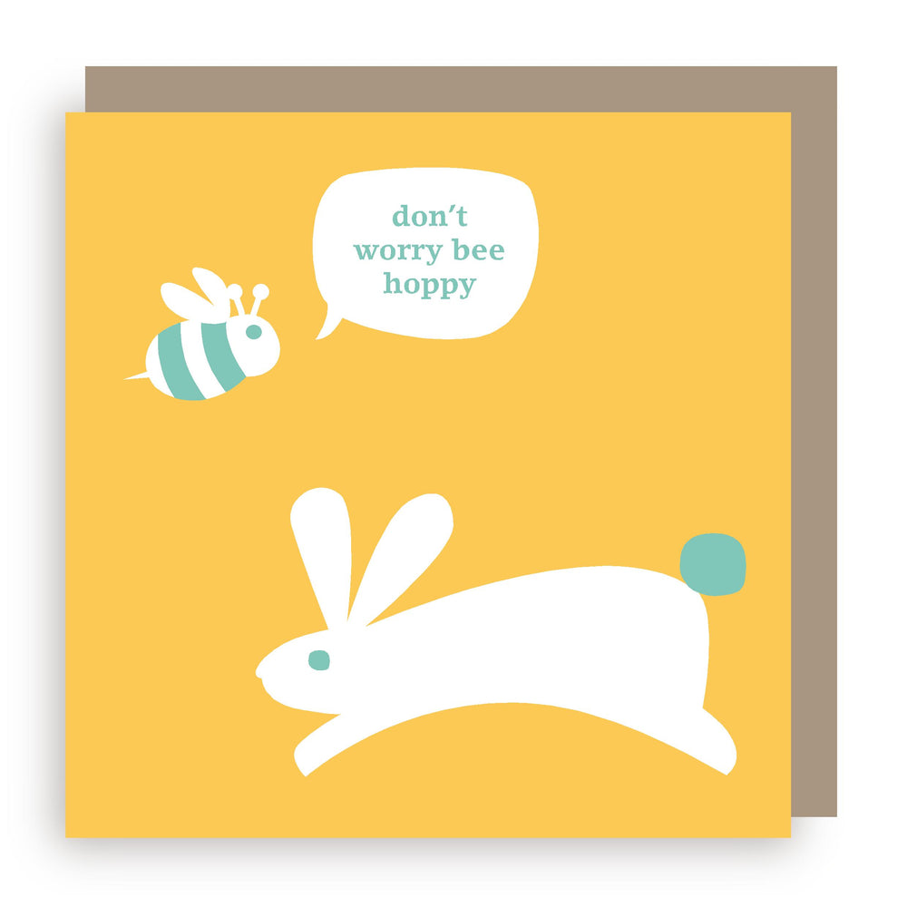 Greetings card | bee hoppy