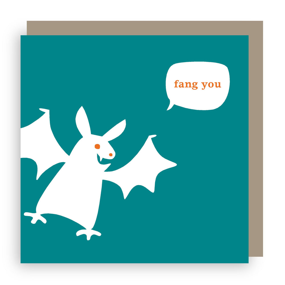 Thank you card | bat