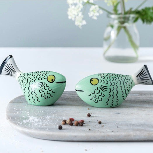 Gifts | Hannah Turner Fish salt and pepper shakers