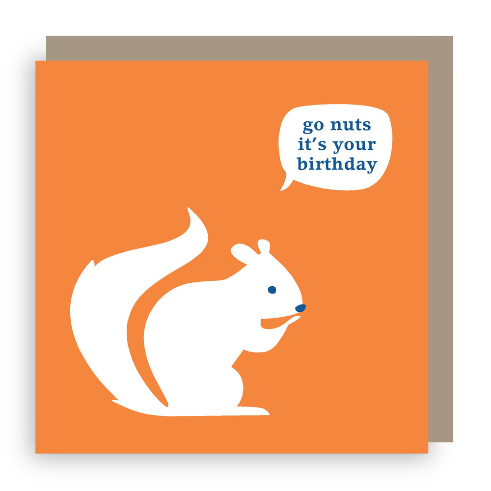 Birthday card | squirrel