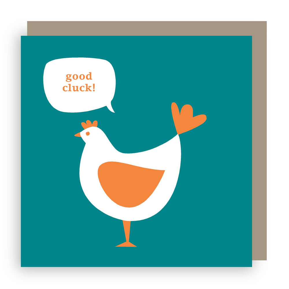 Good luck card | hen