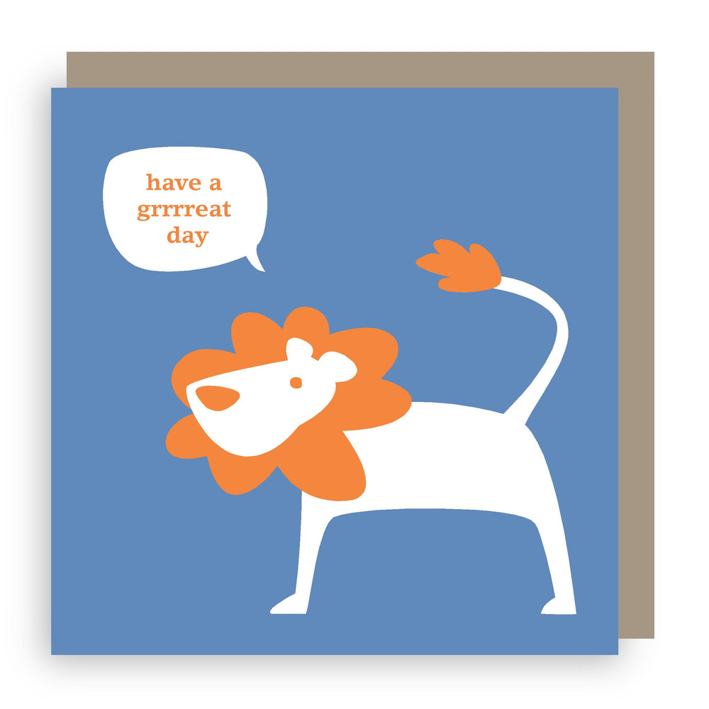 Birthday card | lion