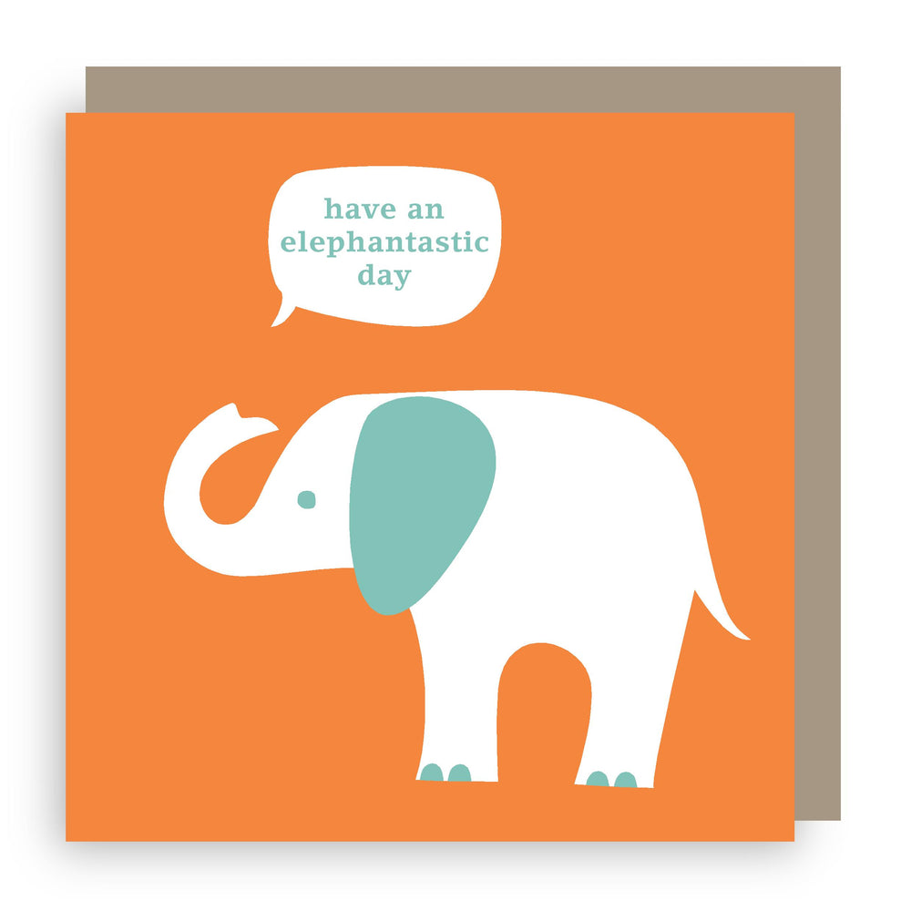Birthday card | elephant