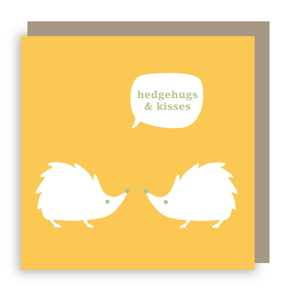 Greetings card | hedgehog
