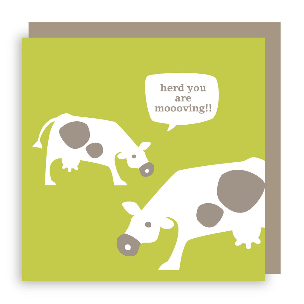 New home card | cows