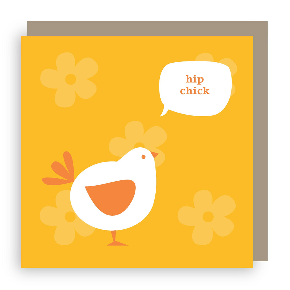 Greetings card | chick