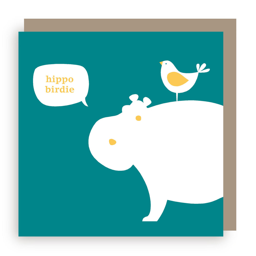 Birthday card | hippo
