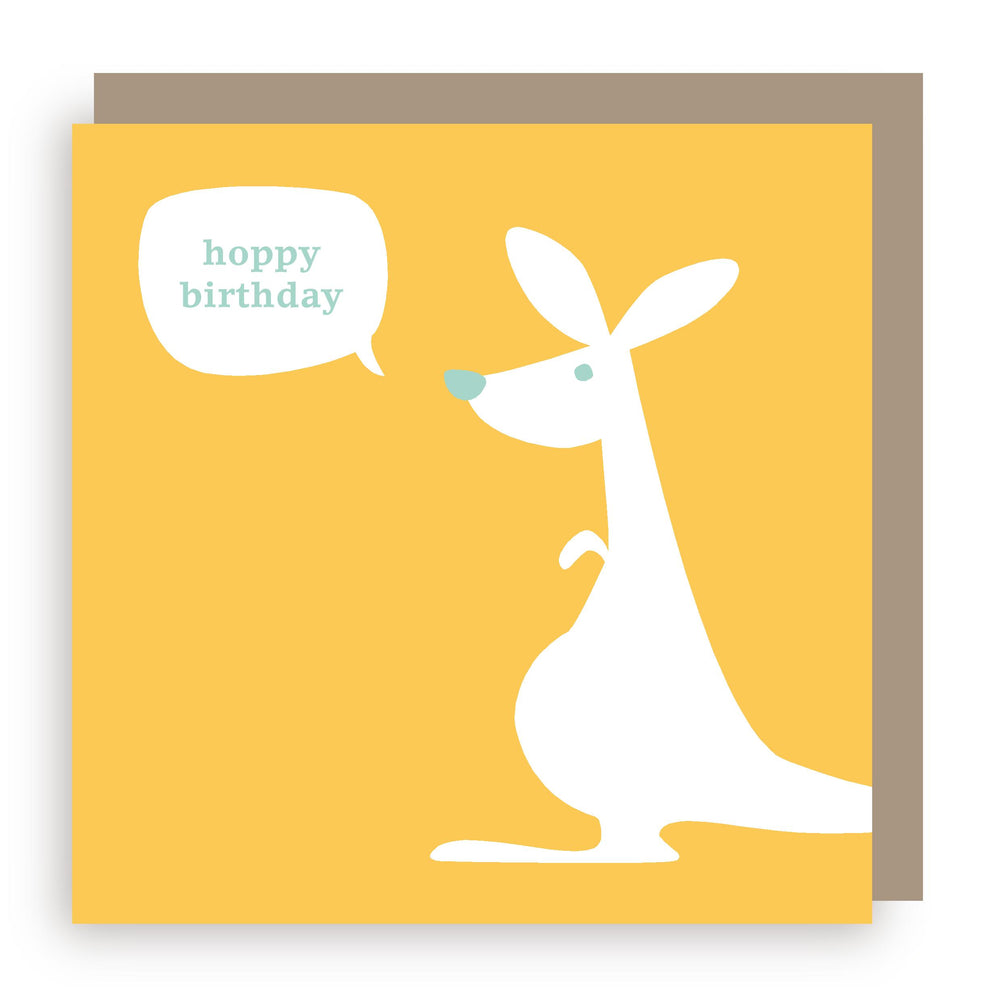 Birthday card | kangaroo