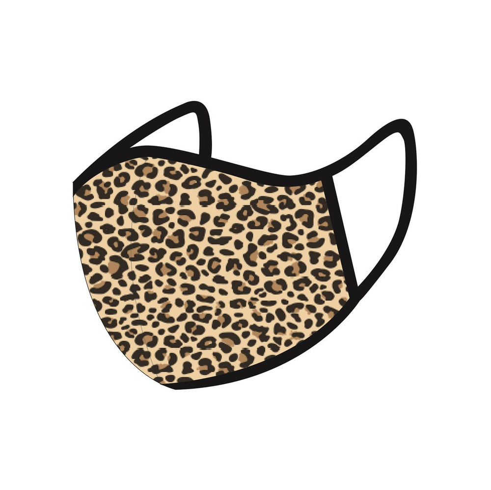 Gifts | Leopard print face mask