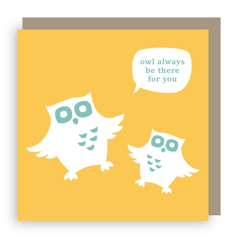 Greetings card | owl