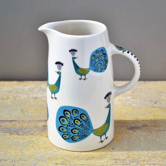 Gifts | Hannah Turner Peacock large jug