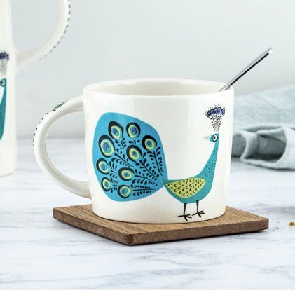 Gifts | Hannah Turner Peacock mug