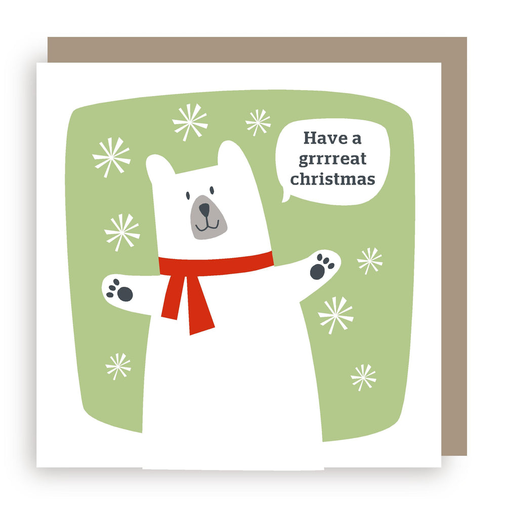 Christmas card | bear