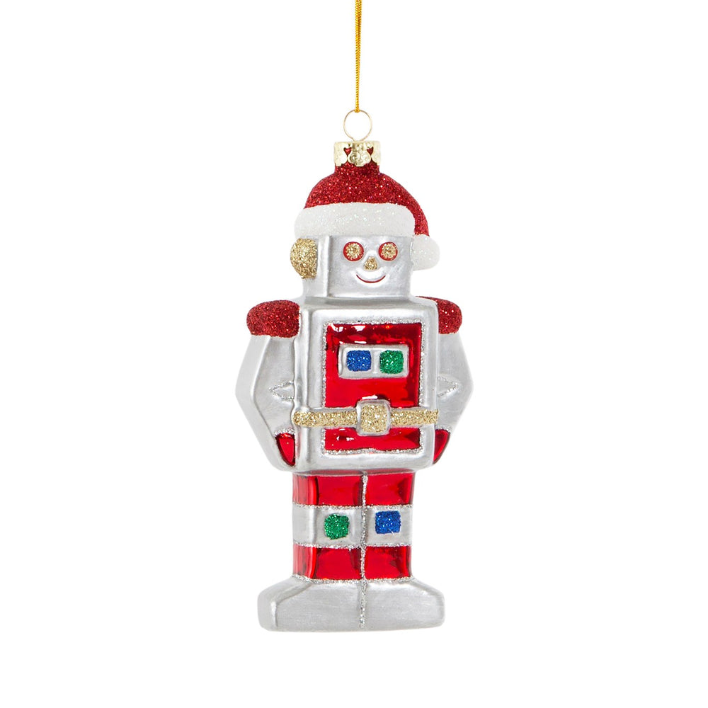 Christmas | Robot glittery tree decoration