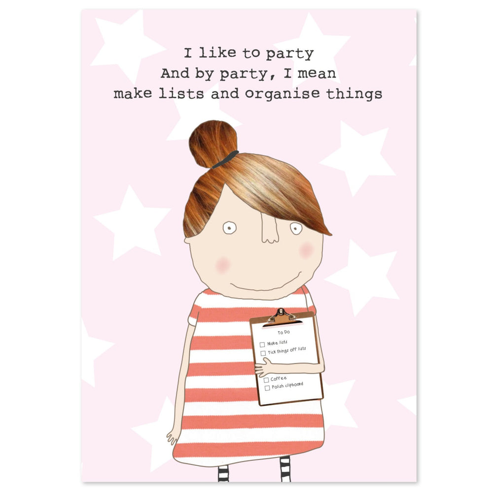 Gifts | I like to party slim notebook