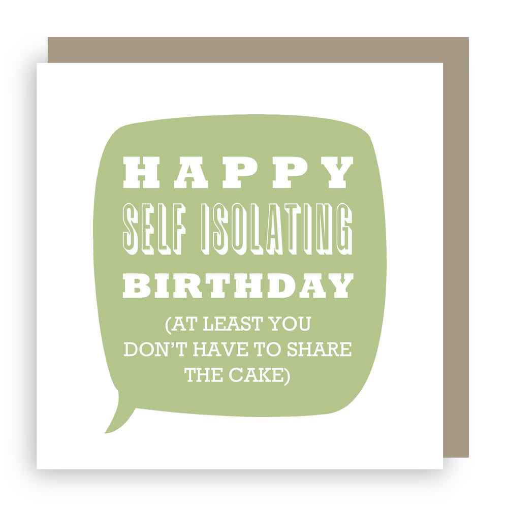 Birthday card | isolation