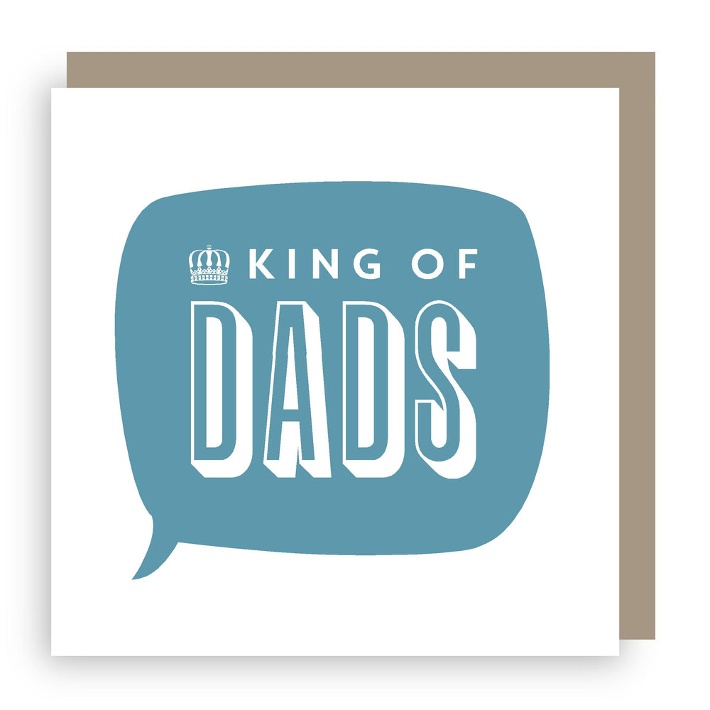 Birthday card | king of dads