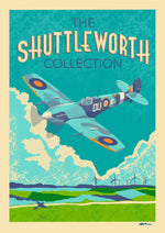 A4 Prints | The Shuttleworth Collection retro style poster
