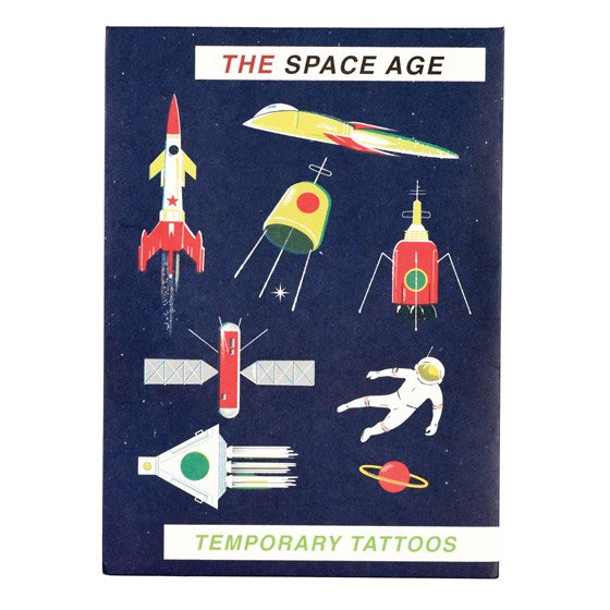 Children's | Space age tattoos