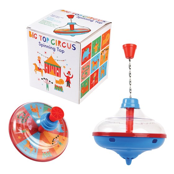 Children's | Circus design Spinning top
