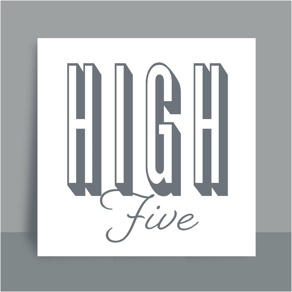 Framed Print | High five