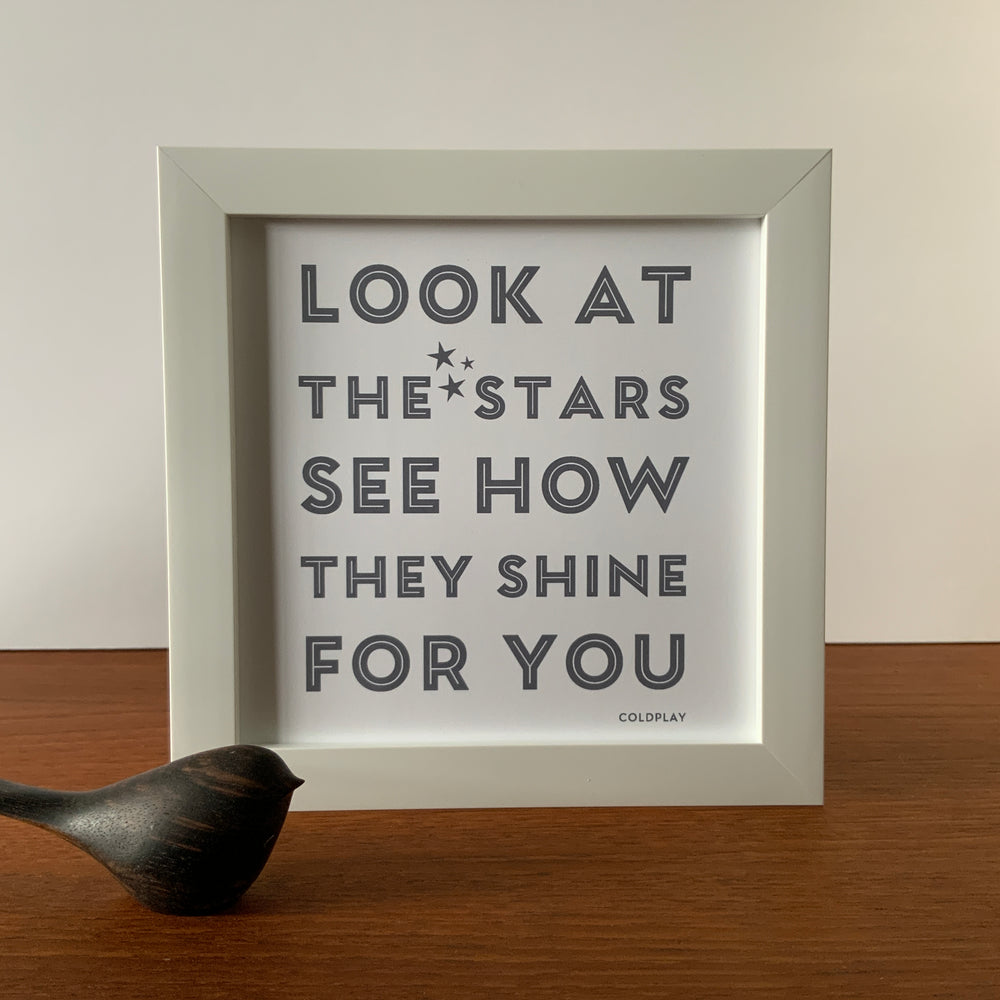 Framed Print | Stars see how they shine