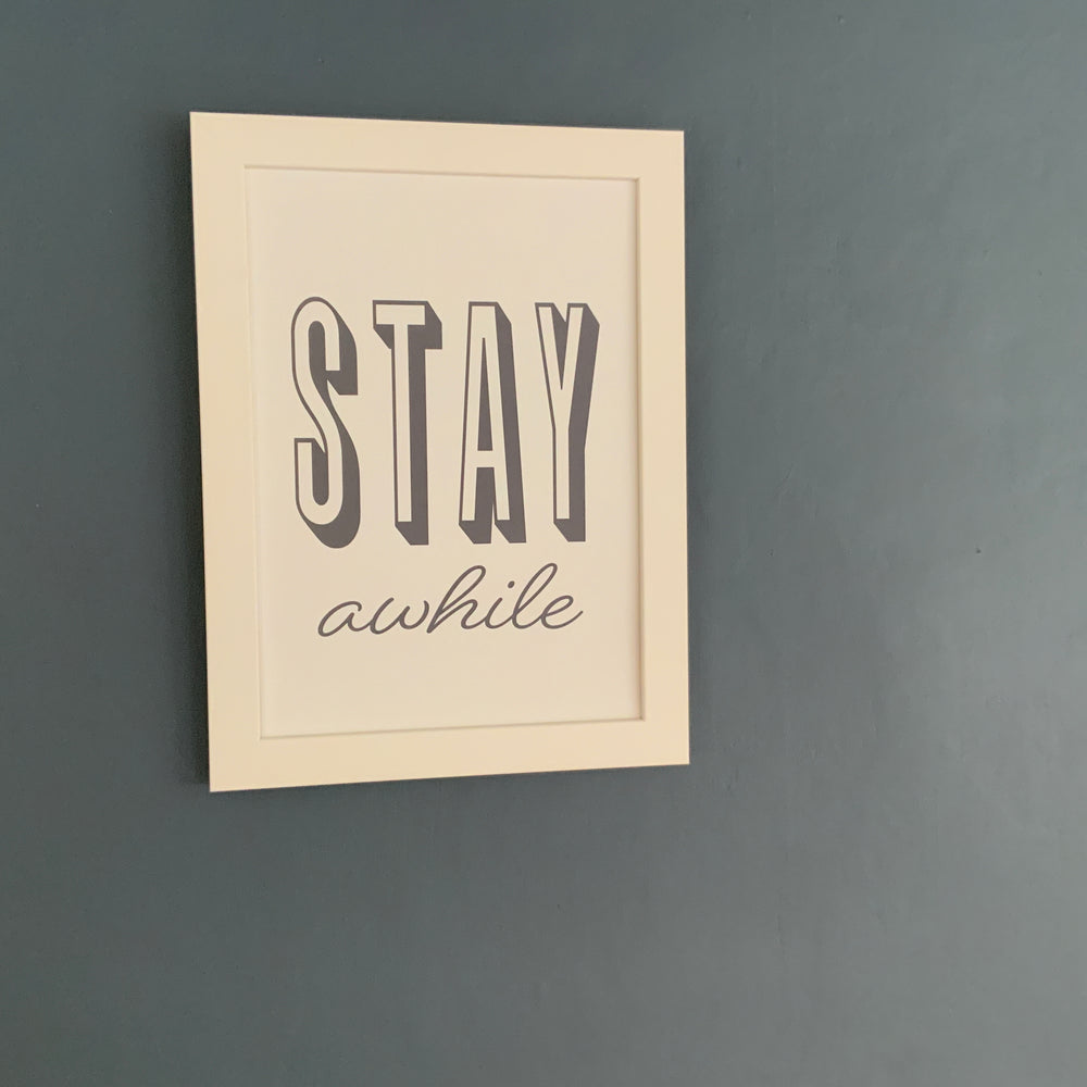 A4/A3 Prints | Stay a while