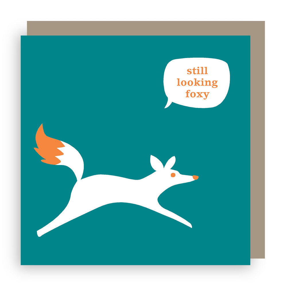 Birthday card | fox