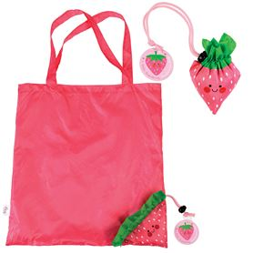 Gifts I Strawberry foldaway shopper
