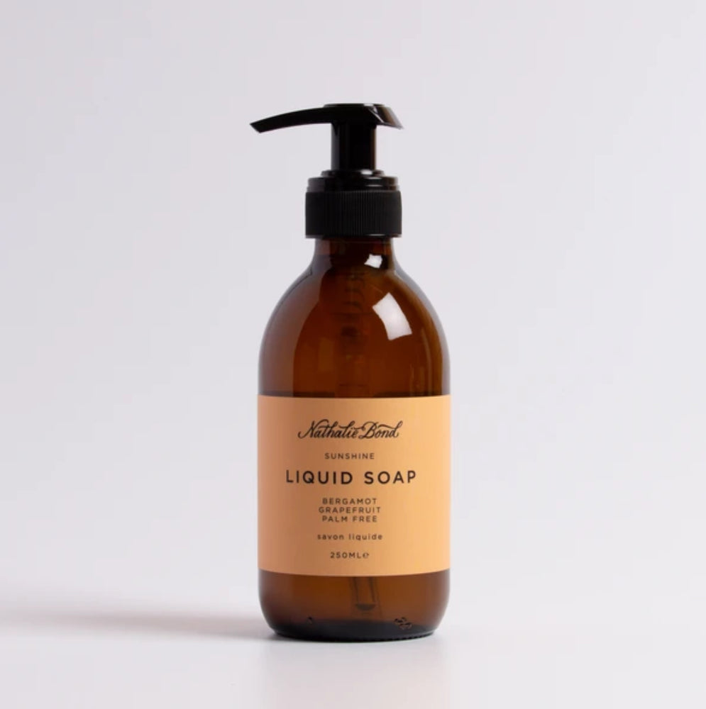 Toiletries I Nathalie Bond Sunshine liquid soap