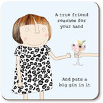 Gifts | A true friend coaster
