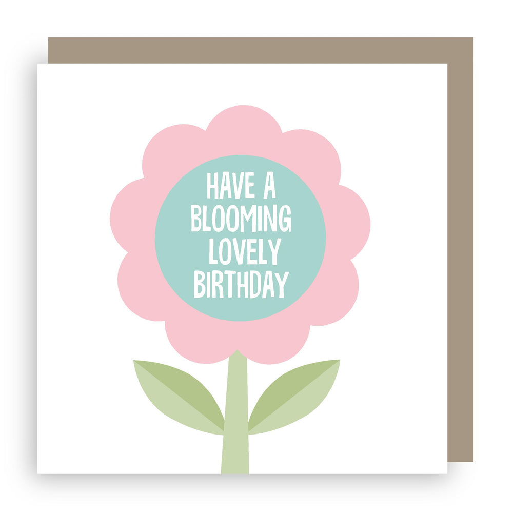 Birthday card | flower