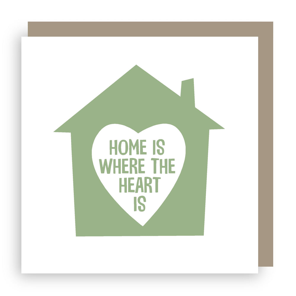 New home card | heart