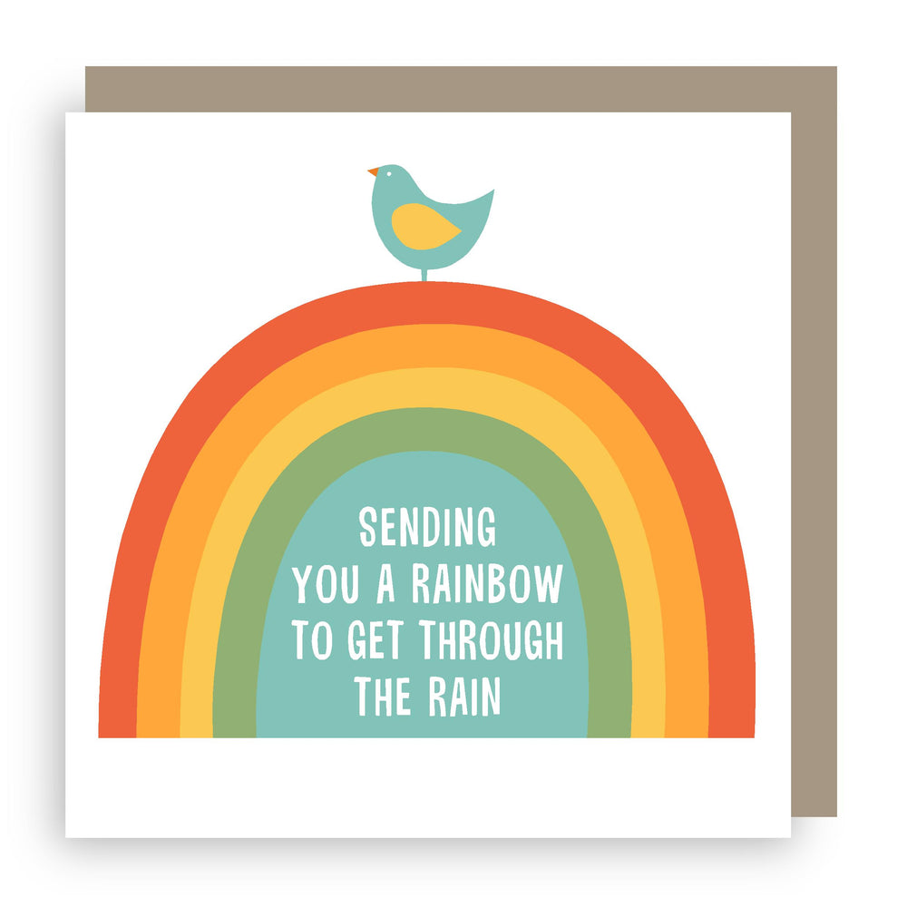 Greetings card | Sending a rainbow