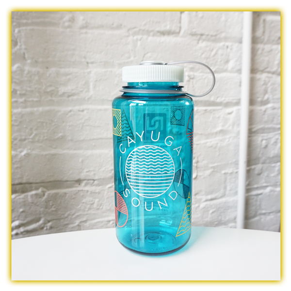 Cayuga Sound Blue Water Bottle