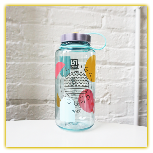 Cayuga Sound Clear Water Bottle
