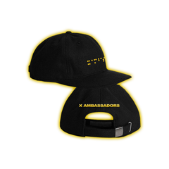 Black and Yellow Brail Twill Cap