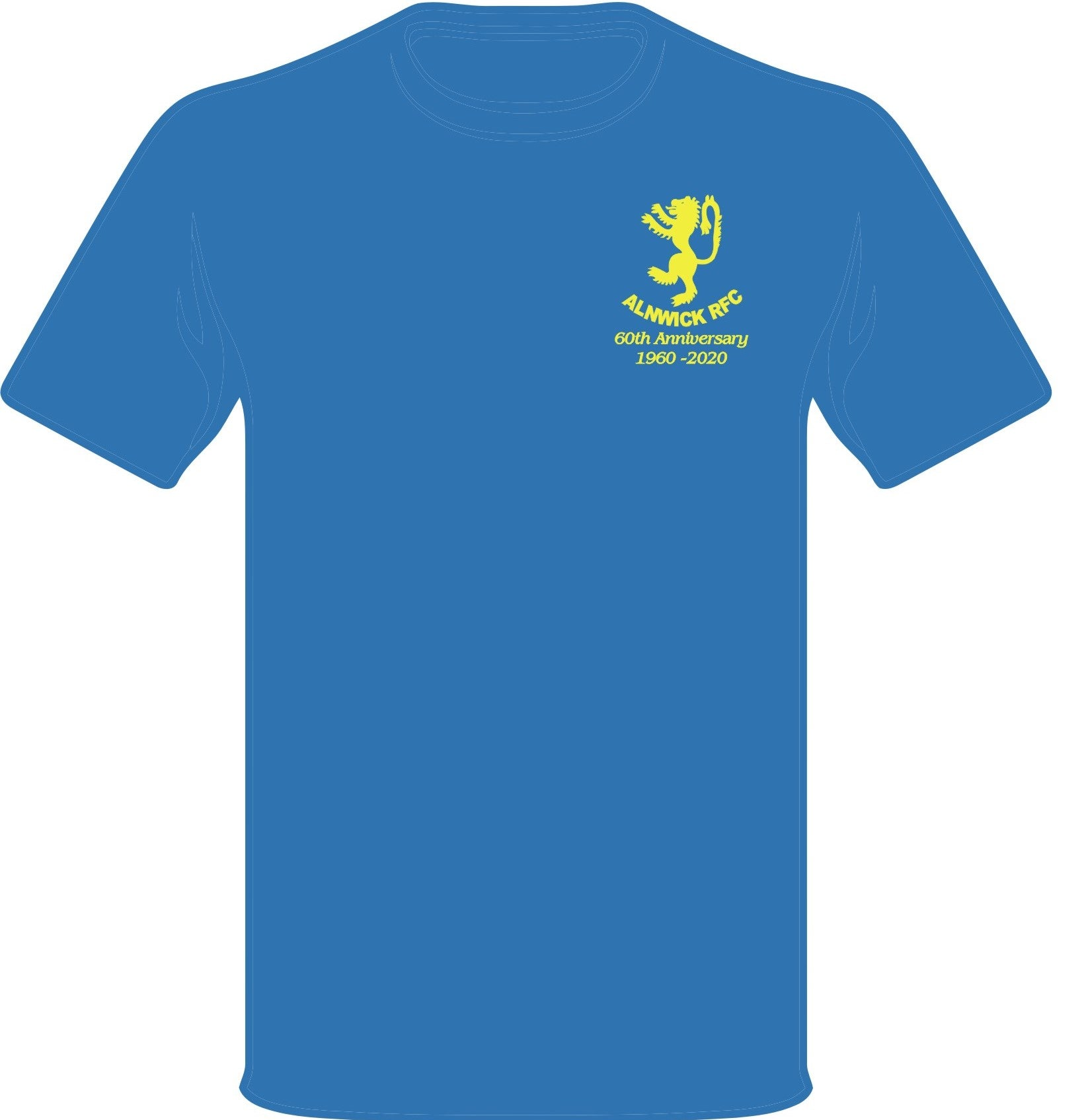 Alnwick RFC 60th Anniversary Tee Senior