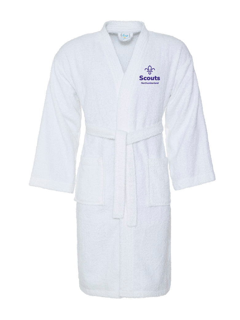 Northumberland Scouts Bath Robe Senior