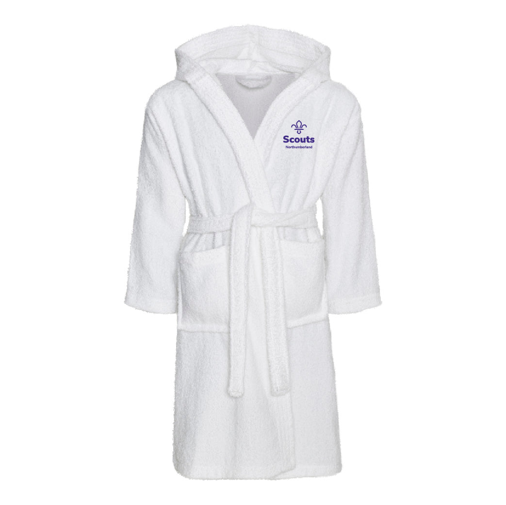 Northumberland Scouts Bath Robe Junior