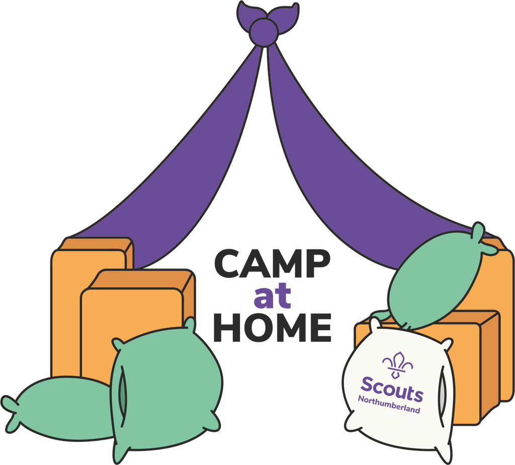 Camp at Home Tee Jnr