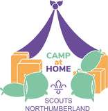 Camp At Home UK Badge PRE ORDER
